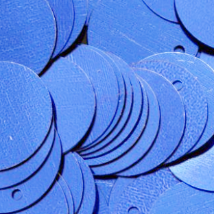 CLEARANCE Massive XXXL 150mm Metallic Royal Blue Sequins x 10. SAVE £2.45, BUY 1 GET 1 FREE